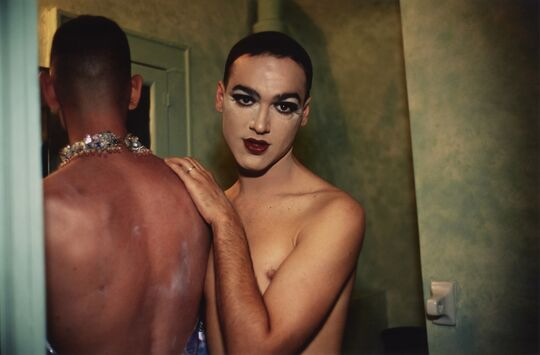 Nan Goldin, Jimmy Paulette and Taboo! In the Bathroom, 1991, C Print, 40 × 60 cm, Sammlung Wemhöner, © Nan Goldin